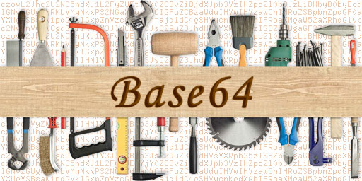 Launched the Base64 Repair Tool